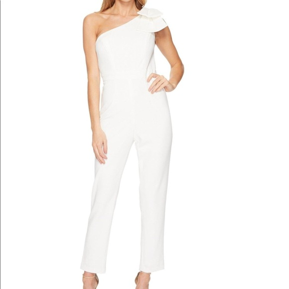 93ccbe75aed NWT Adrianna Papell one shoulder jumpsuit